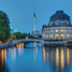 The Bode Museum and the Television Tower in Berlin - PhotoDune Item for Sale