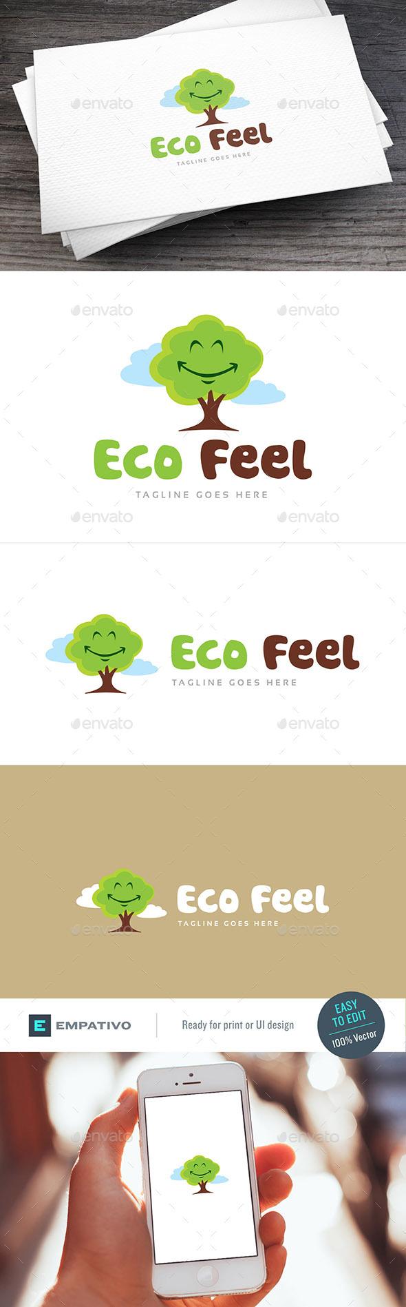 Eco Feel Logo Template - Nature Logo Templates
