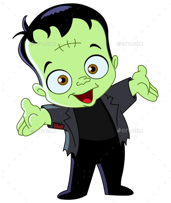 Frankenstein Kid - Monsters Characters
