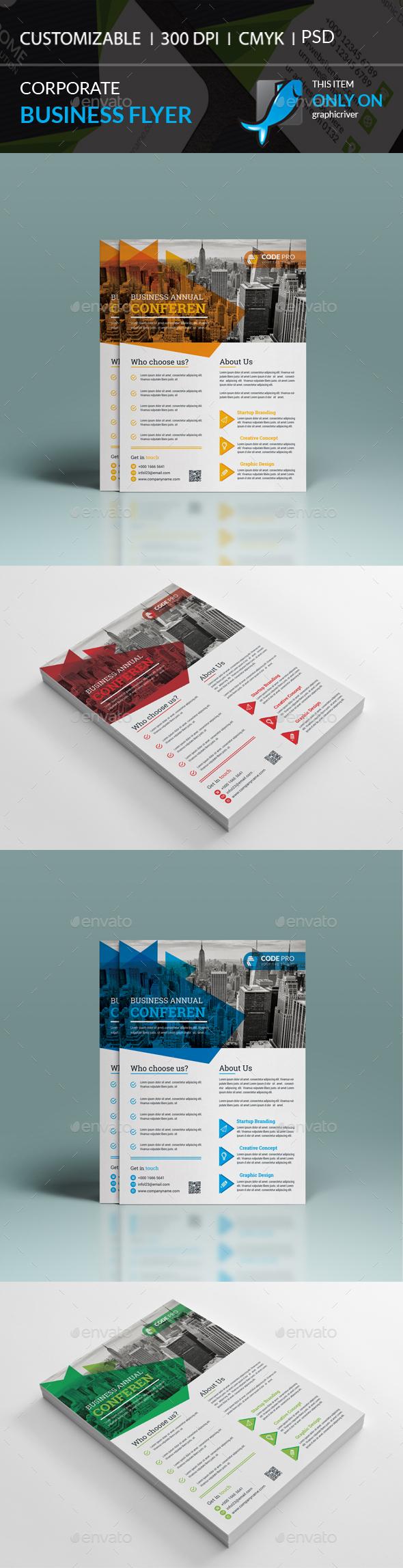 GraphicRiver Corporate Flyer 20456945