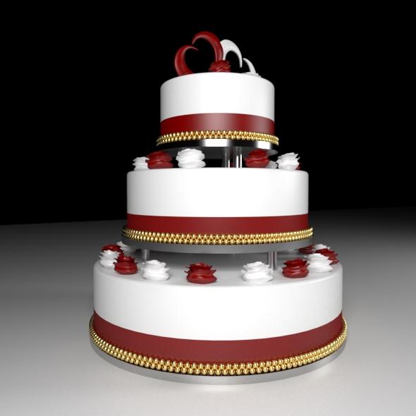 3DOcean Wedding Cake 20456969