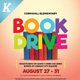 Book Drive Flyer Templates