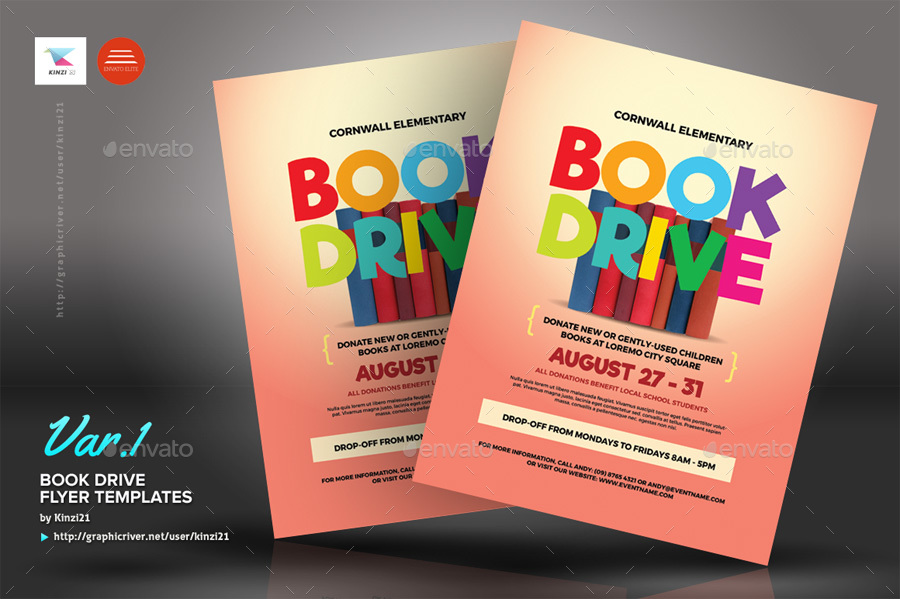 screenshots01_graphic river book drive flyer templates kinzi21jpg