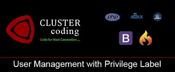User Management with Privilege Label - CodeCanyon Item for Sale