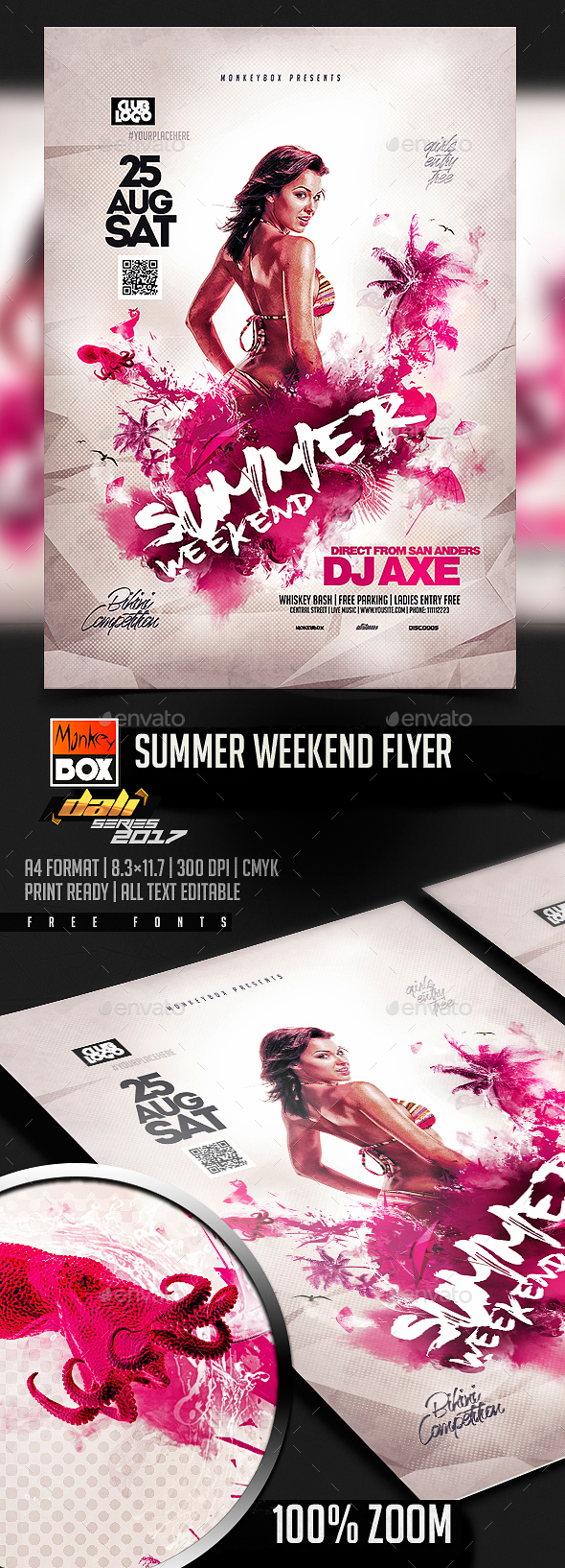 Summer Weekend Flyer - Events Flyers