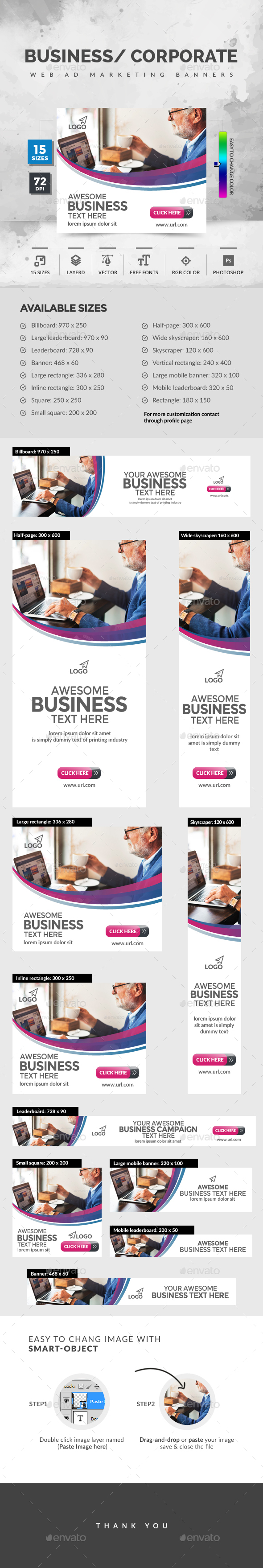 GraphicRiver Business Banners 20457567