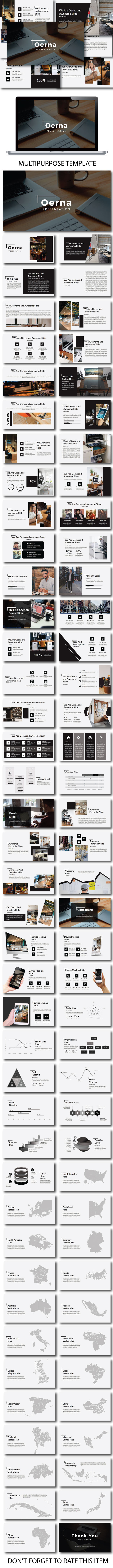 Oerna Multipurpose Google Slide Template - Google Slides Presentation Templates