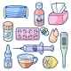 Medicines and Medical Objects Set. - GraphicRiver Item for Sale