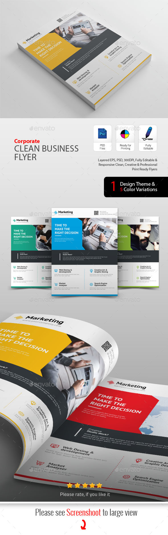 GraphicRiver Business Flyers 20457852