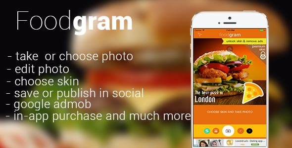 CodeCanyon Foodgram 20458006