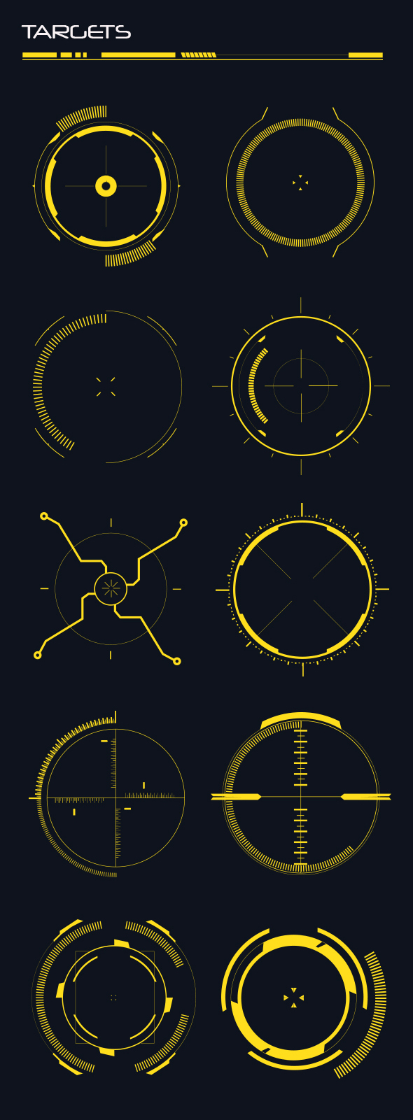GraphicRiver Hi-Tech Custom Shapes 20458119