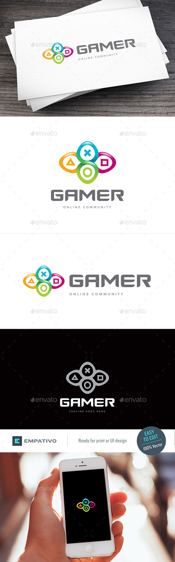 FreePlay Logo Template - Symbols Logo Templates