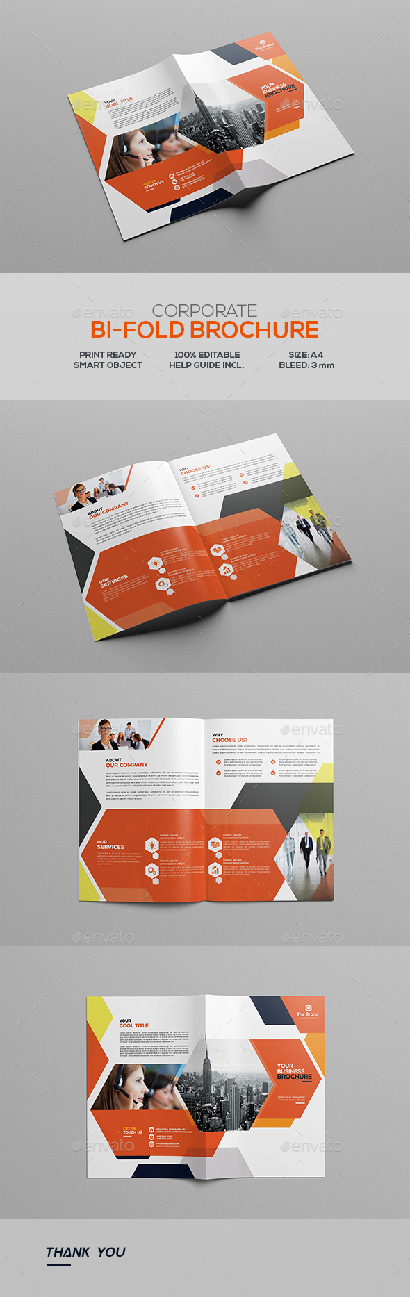 GraphicRiver Corporate Bifold Brochure 20458210