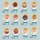 Set of Electrician Flat Icons - GraphicRiver Item for Sale