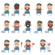 Set of Flat Plumber Icons - GraphicRiver Item for Sale