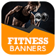 Fitness Ad Banner - GraphicRiver Item for Sale