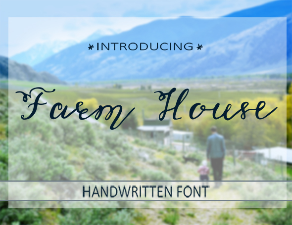 Farm House Font - Fonts