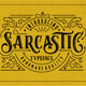 Sarcastic Typeface - GraphicRiver Item for Sale