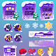 Frozen Game Interface - GraphicRiver Item for Sale