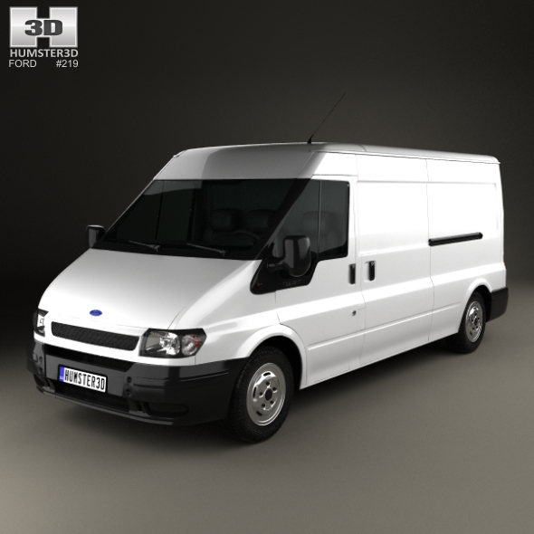 Ford Transit Panel Van 2000 - 3DOcean Item for Sale
