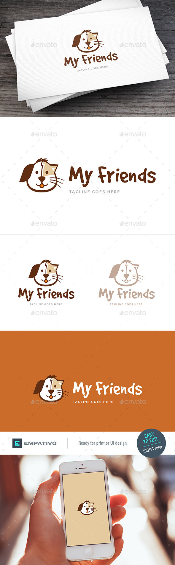 Pets Logo Template - Animals Logo Templates