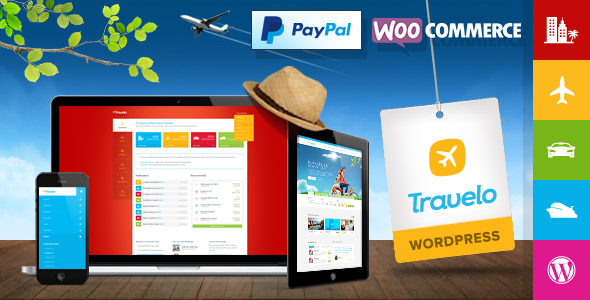 Travelo - Travel/Tour Booking WordPress Theme - Travel Retail