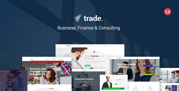 Trade - Business and Finance WordPress Theme - Business Corporate
