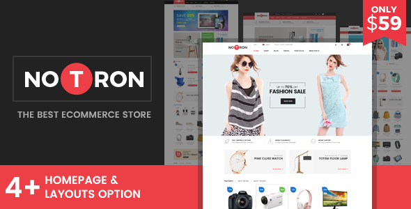 Notron - Fashion and Digital WooCommerce WordPress Theme
