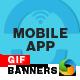 Mobile App Animated Gif Banners