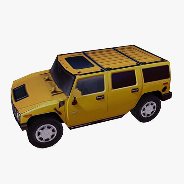 HUMMER H2 4WD - 3DOcean Item for Sale