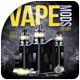 Vape Mod Flyer Template - GraphicRiver Item for Sale