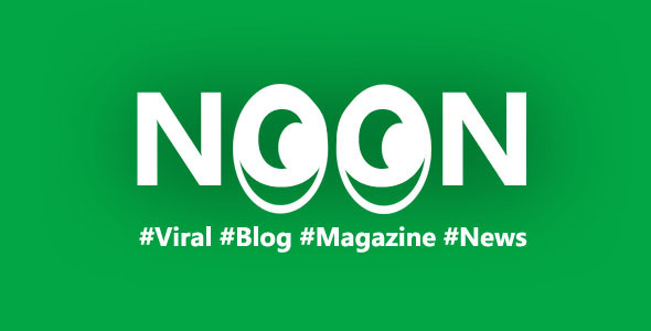 Noon - Crisply Made Ad Friendly WordPress Magazine Theme
