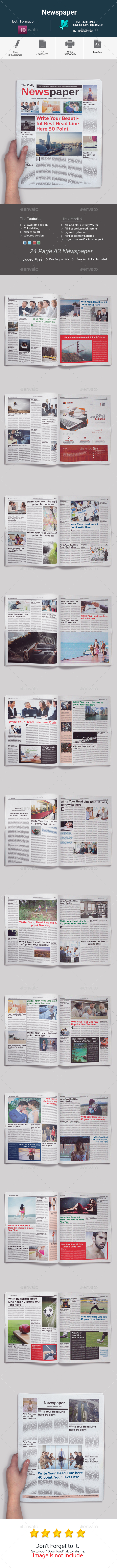 GraphicRiver Newspaper 20457281