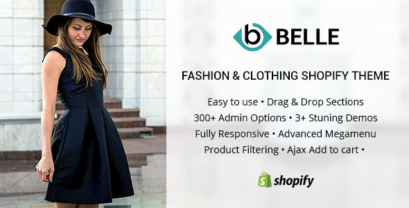Belle - Clothing and Fashion Shopify Theme