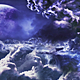 Clouds With Mysterios Planet - VideoHive Item for Sale
