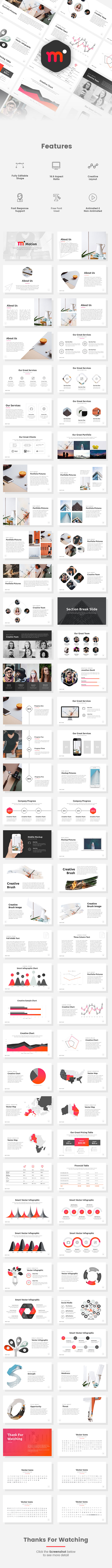 Motion - Creative PowerPoint Template - Creative PowerPoint Templates