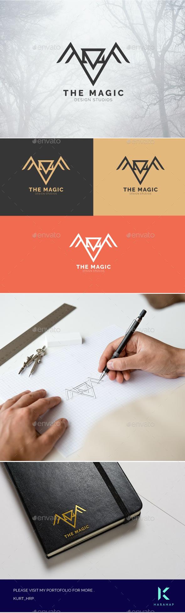 GraphicRiver The Magic Logo 20457206