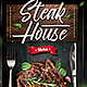 Steak Menu Flyer - GraphicRiver Item for Sale