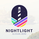 Night Light - colorful Logo - GraphicRiver Item for Sale
