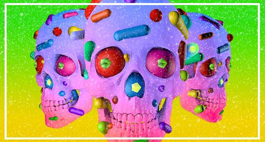 Skull 3D Renders