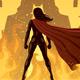 Super Heroine Versus Robot