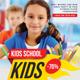 Kids School Flyer