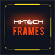 50 Hi-tech Frames Custom Shapes - GraphicRiver Item for Sale