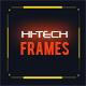 50 Hi-tech Frames Custom Shapes - GraphicRiver Item for Sale
