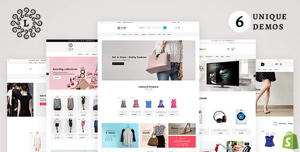 LUSH - Multipurpose Shopify Theme