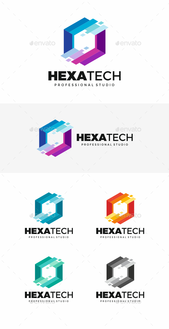 Hexagon - Symbols Logo Templates