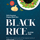 Premium Black Rice Packaging