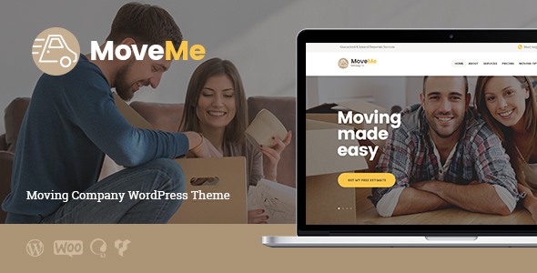 MoveMe | Moving & Storage Company - Business Corporate
