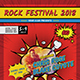 Comic Style Music Festival Flyer - GraphicRiver Item for Sale