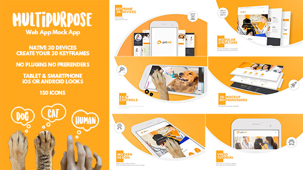 Multipurpose Web App Mock App